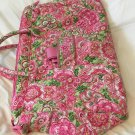 Vera Bradley Weekender Petal Pink satchel overnighter carry-on Retired