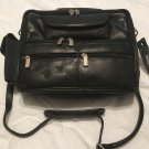 Wilson Leather shoulder bag man bag boarding bag commute tote lambskin NWT