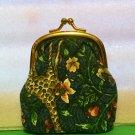 Vera Bradley Kisslock Coin in Animal Kingdom   vintage favorite pattern