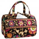 Lunch Date Suzani Vera Bradley  insulated travel cosmetic food medicine tote ID tag nwot retired