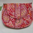 Vera Bradley Saddle Up crossbody messenger hobo bag in Rasberry Fizz  NWT Retired  tote purse