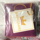 Baekgaard Sew Easy sewing kit  leather Vera Bradley  limited edition Plum / Cherry