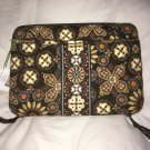 Mini Laptop Case Canyon by Vera Bradley hardshell  brown nwt