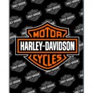 Harley Davidson Fleece Blanket- HD Logo
