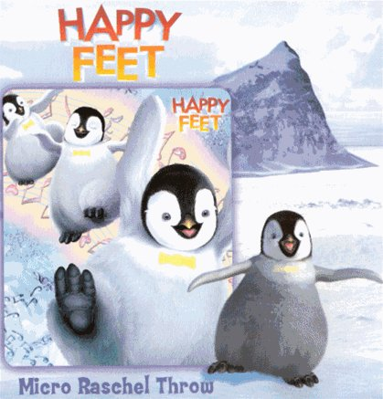 Happy Feet Blanket