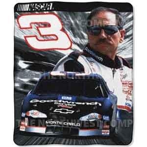NASCAR Dlae Earnhardt Sr.Fleece Blanket