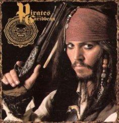 Pirates Of The Caribbean Fleece Blanket