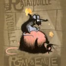 Ratatouile Fleece Blanket