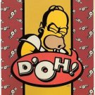 Homer Simpson Doh Fleece Blanket