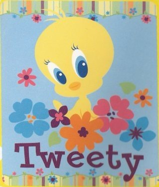 Tweety Bird  Fleece Blanket