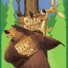 Open Season Fleece Blanket