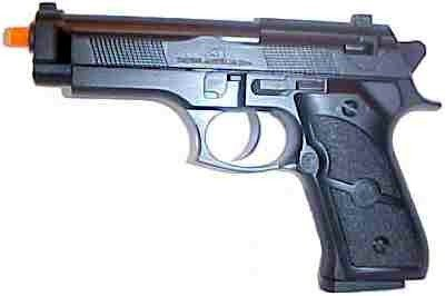 AK997 9mm Airsoft Pellet Gun - Black