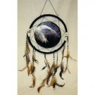 "13"" Eagle Dream Catcher w/ Feathers"