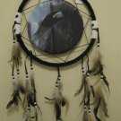 "13"" Flying Eagle Dream Catcher w/ Feathers"