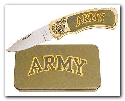 Army Knife in Metal Tin