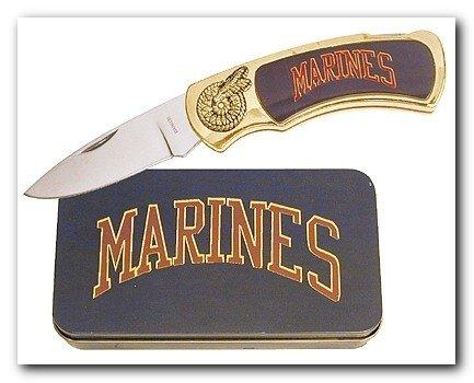 Marine Knife in Metal Tin