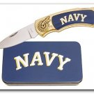 Navy Knife in Metal Tin