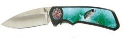 Bass Fishing Pocket Knife