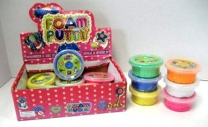 12 Tubs of Foam Putty