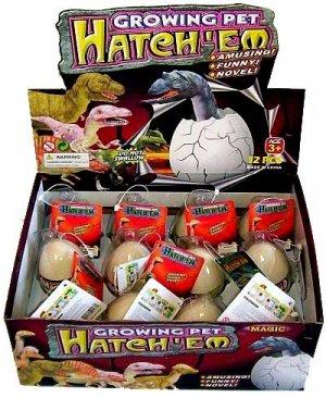 12 Hatchem Dino Eggs