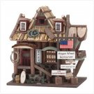 Wagon Wheel Restaurant Birdhouse