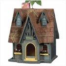Thatch Roof Chimney Birdhouse
