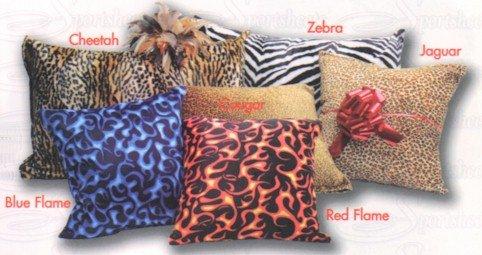 Hide a vibrator Pillow -Cheetah