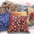 Hide a vibrator Pillow -Cheetah