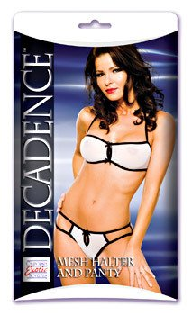 Decadence Mesh Halter and Panty