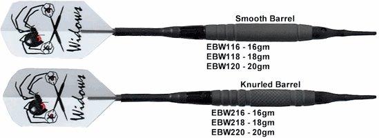 Laser Black Widow Soft Tip Darts
