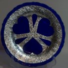 Plate with big hearts and three tear drops