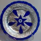Plate with a star and tear drops