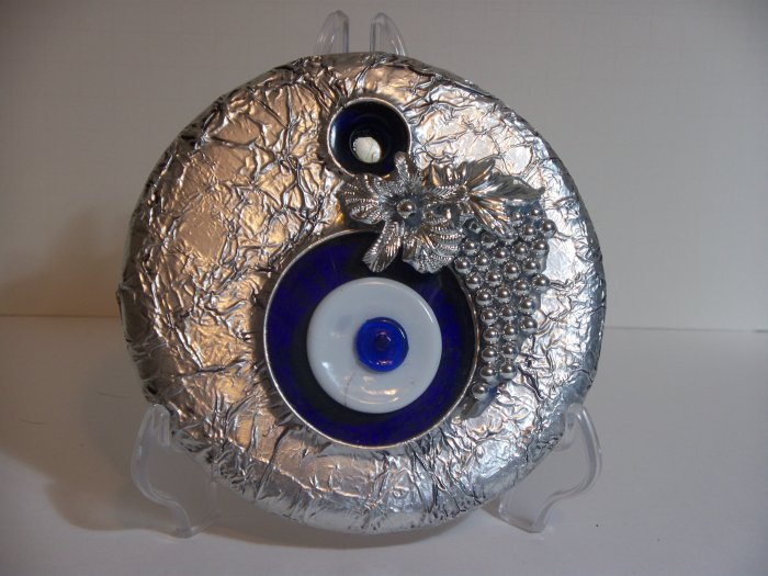 Eye Charm covered in aluminum #2