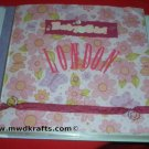 Slap N Clap Albums ~ This Baby Girl 12 x12 Scrap Book Album