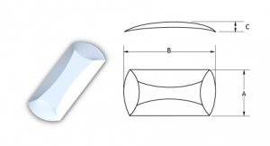 Oblong Series Metal dome- No Dimple-5*3.8-175BFOO