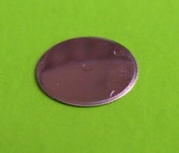 Circle Metal dome - Dimple, Diameter 10mm