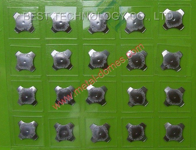 One Key Dome Array - Four-legs 12.2mm