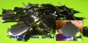Four-Leg Metal Dome with Legs - Dia 11.4mm