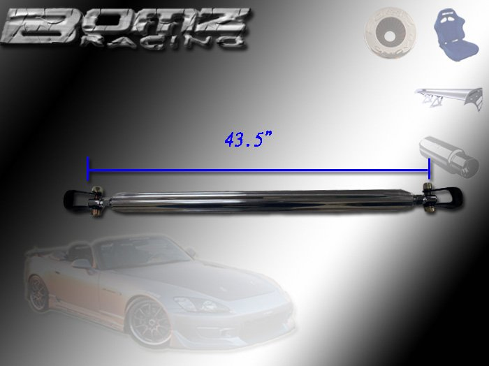 NON ABJUSTABLE STRUT BAR FOR HONDA CIVIC/CRX 88-91 REAR
