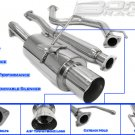EXHAUST CATBACK 92-00 HONDA CIVIC 2DR/4DR