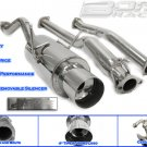 EXHAUST CATBACK 01-03 HONDA CIVIC 2DR/4DR