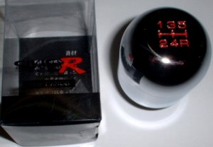 Racing Style Type R Style Shift Knob Chrome For Acura Integra/HONDA CIVIC/CRX