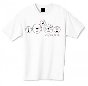 CYN Gauges Tshirt (White)