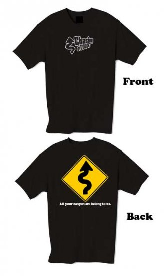 Chasing the Touge Tshirt (Black) - Limited Edition