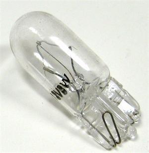 T10 12V 3W 24MM OAL Turn Signal Light Bulb Clear