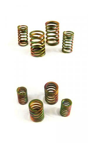 NCY Performance Electroplated Titanium Valve Springs GY6 150