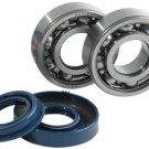 SKF Crank Bearings & Oil Seal Set Yamaha Zuma 50 2t