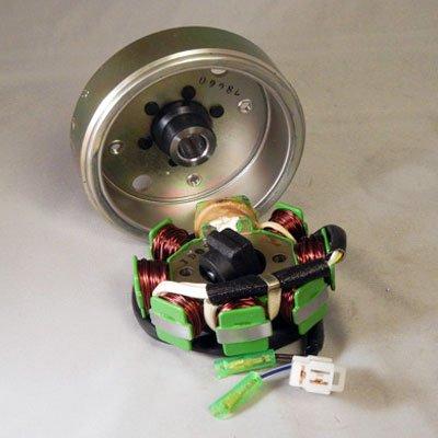 OEM 8 Coil Stator W/ Flywheel GY6 50