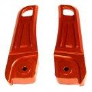 NCY Footrest Covers Honda PCX Orange