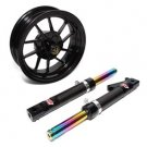 NCY Honda Ruckus Carbon Fiber Front End Kit (10 Spoke)